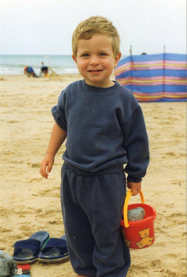 Jonathan aged two