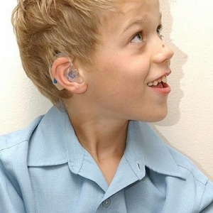 Jack Riley with hearing aids