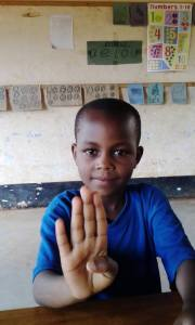 Childreach TZ sign language competition